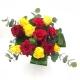 LUPO SELVAGGIO: rose gialle e rosse