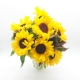 MEMORIA D'ESTATE: bouquet con girasoli