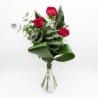 SEMPLICE MAGIA: 3 rose rosse