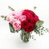TRITTICO PERFETTO: rose rosa, rosse e bianche