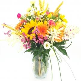 PROFUMO DI GRANO: girasoli e fiori colorati di stagione