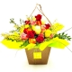 IRIS: bouquet fresh di rose miste colorate