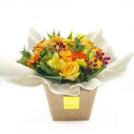BEATRICE: Bouquet Fresh misto sui toni del giallo e arancio