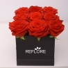 LUXURY BOX CON ROSE ROSSE