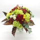 DOMENICA IN FESTA: garofani, bacche e sancarlini di diversi colori