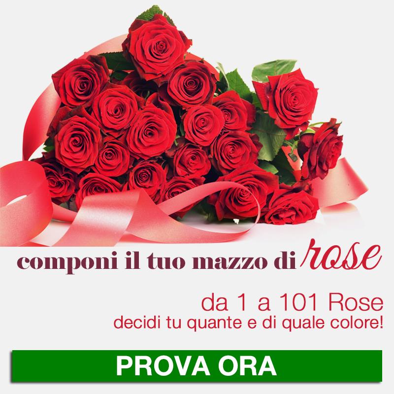 Configura il tuo mazzo di rose